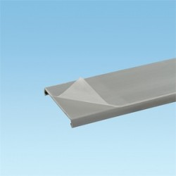 Panduit - C2IB6-F - Panduit C2IB6-F Duct Cover, for 2 Wide PANDUCT, PVC, Intrinsic Blue, 6', Protective Film