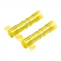 Panduit - BSN10-2K - Panduit BSN10-2K Butt Connector, Nylon Insulated, 12 - 10 AWG, Yellow, Pack of 2000