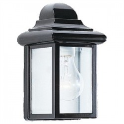 Sea Gull Lighting - 8588-12 - Sea Gull 8588-12 Outdoor Wall One Light Black
