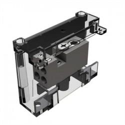 Burndy - BDA11500 - Burndy BDA11500 Power Distribution Block, 1 Pole, 4 AWG to 500 MCM, 380 Amp