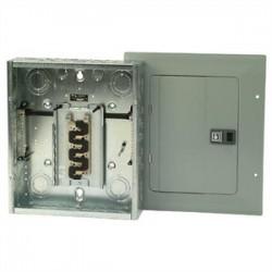 Eaton Electrical - BR1224L125DG - Eaton BR1224L125DG Load Center, Main Lug, 125A, 120/240V, 1PH, 12/24, NEMA 1