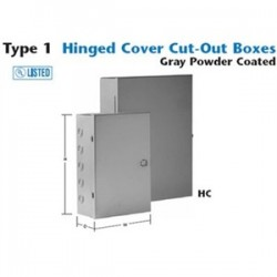 Unity - 10104hc - Unity 10104hc N1 Hinged Cover Cut-out