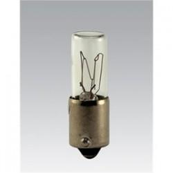 Candela - 120MB-I - Candela 120MB-I Miniature Incandescent Lamp, T2, 3W, 120V, Clear