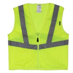 Lift Safety - AVV-10L1L - Lift Safety AVV-10L1L Safety Vest, Viz-Pro - Size: X-Large, Yellow
