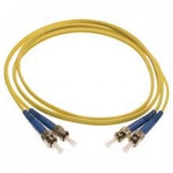 Shaxon - FCLCLC01M - Shaxon FCLCLC01M Fiber Optic Patch Cord, Duplex, LC to LC, Multimode, 1 Meter, Yellow