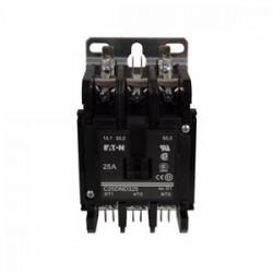 Eaton Electrical - C25DNC325B - Eaton C25DNC325B Contactor, C25 series, 25A, 3P, 3PH, 600VAC, 208/240VAC Coil, Open