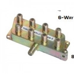 Quest Technology - VSP-1820 - Quest VSP-1820 Splitter, 8-Way, Video, 5 MHz - 900 MHz, Screw Mount