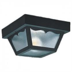 Sea Gull Lighting - 7567-32 - Sea Gull 7567-32 Ceiling Light, Outdoor, 1-Light, 60W, Black