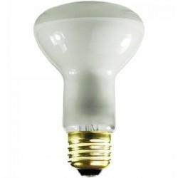 Satco - 45R20/FL - Satco 45R20/FL Incandescent Reflector Lamp, R20, 45W, 130V