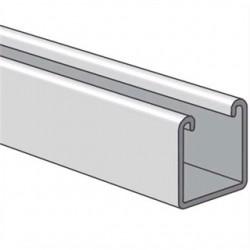 Atkore - PS 200 10 AL - Power-Strut PS 200 10 AL Channel - No Holes, Aluminum, 1-5/8 x 1-5/8 x 10'