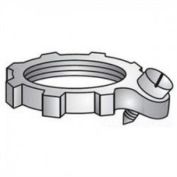 Emerson - 105 - OZ Gedney 105 Bonding Locknut, 1-1/2 Inch, Steel