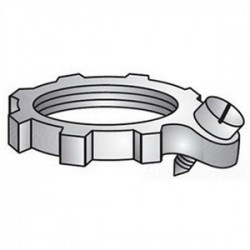 Emerson - 106 - OZ Gedney 106 Bonding Locknut, 2 Inch, Steel