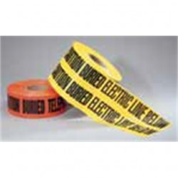 IDEAL Electrical / IDEAL Industries - 42-101 - Ideal 42-101 Non-Detectable Underground Caution Tape, 3 x 1000', Red