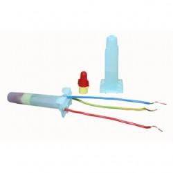 3M - DBR/Y-6 BULK - 3M DBR/Y-6 BULK Red/Yellow Direct Bury Splice Kit, 18-10 AWG, Bulk (100/box)