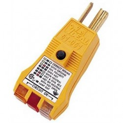 IDEAL Electrical / IDEAL Industries - 61-051 - Ideal 61-051 E-Z Check Plus GFCI Circuit Tester