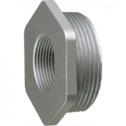 Arlington Industries - 1276 - Arlington 1276 Larger Reducing Bushing, 2-1/2 x 2, Die-Cast Zinc