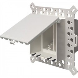 Arlington Industries - DBVM2W - Arlington DBVM2W Weatherproof-In-Use Box, 2-Gang, Recessed, For Masonry, Retrofit