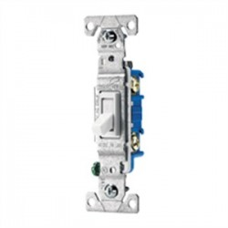 Cooper Wiring Devices - 1303-7A - Cooper Wiring Hard Wire Switch - Toggle Switch - Light Control - Almond