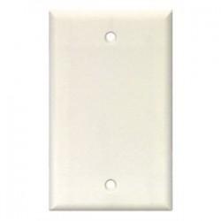 Cooper Wiring Devices - 2129LA - Cooper Wiring Devices 2129LA Blank Wallplate, 1-Gang, Thermoset, Light Almond
