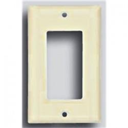 Cooper Wiring Devices - 2151LA-BOX - Cooper Wiring Devices 2151LA-BOX Decora/GFCI Wallplate, 1-Gang, Thermoset, Light Almond