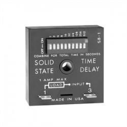 Littelfuse - TDU3001A - SSAC TDU3001A Timing Relay, Solid State, On-Delay, 1 - 1023 Sec, 100- 240V AC/DC