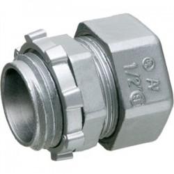 Arlington Industries - 825 - Arlington 825 EMT Compression Connector, 2, Zinc Die Cast, Concrete Tight