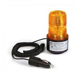 TOMAR Electronics - 470S-1280-A - TOMAR Electronics 470S-1280-A Strobe, Low Profile, Type: Single Flash, 12VDC, Lens: Amber