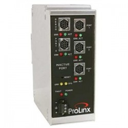 ProSoft Technology - 5102-MCM4-DFCM4 - Prosoft Technology 5102-MCM4-DFCM4 Gateway, Modbus Master/Slave to DF1 Master/Slave, 24VDC, 500mA