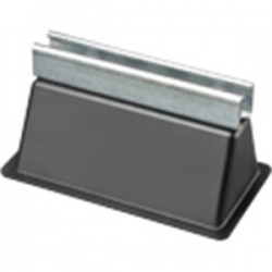 Arlington Industries - RTS4 - Arlington RTS4 Rooftop Support with Channel, 9 x 5-5/8, Rubber/Steel
