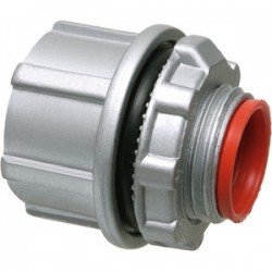 Arlington Industries - WH1 - Arlington WH1 Conduit Hub, 1/2, Insulated, Watertight, Zinc Die Cast