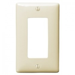 Hubbell - NP26AL - Hubbell-Bryant NP26AL WALLPLATE, 1-G, 1) RECT,