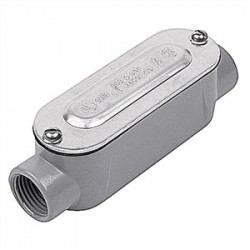 Red Dot - DAC-8-CG - Red Dot DAC-8-CG Conduit Body, Type: C, Size: 3, Cover/Gasket, Aluminum