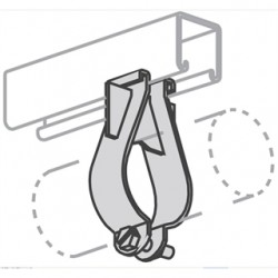 Atkore - P1566-eg - Unistrut P1566-eg Parallel Pipe Clamp