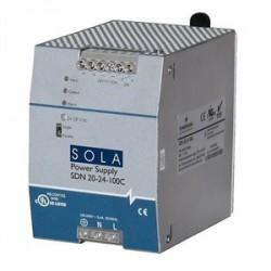 Sola / Hevi-Duty / Emerson - SDN 5-24-480 - Sola Hevi-Duty SDN 5-24-480 Power Supply, 380/480VAC @ 0.5A, 24VDC @ 5A, 120W, DIN Rail Mount