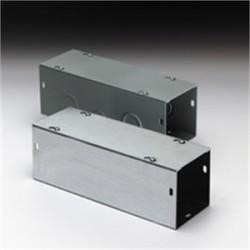 Eaton Electrical - 66120 G NK - Cooper B-Line 66120 G NK Wireway, Type 1, Screw Cover, 6 x 6 x 120, Steel, Gray, No KOs