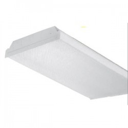 Elite Lighting - 4OIW232T8120 - Oracle Lighting 4OIW232T8120 Fluorescent Wrap Fixture, 4', 2-Lamp, T8, 32W, 120V
