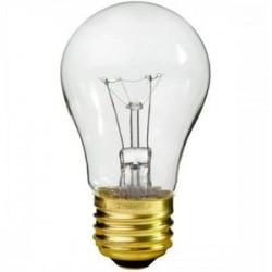 Satco - 15A15 - Satco 15A15 Incandescent Bulb, A15, 15W, 130V, Clear