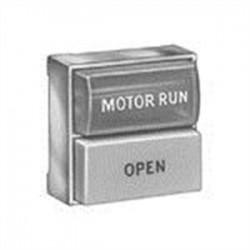 Eaton Electrical - E30DX3 - Eaton E30DX3 Multifunction Pushbutton Operator, 1 Button, w/Light, No Lens