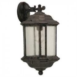 Sea Gull Lighting - 84030-746 - Sea Gull 84030-746 1l Wall Lantern Oxford Bronze