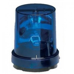 Federal Signal - 121S-120B - Federal Signal 121S-120B Beacon, Rotating, Incandescent, Color: Blue, Voltage: 120V AC