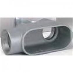 BizLine - BZLOLB4CG - Bizline BZLOLB4CG Conduit Body, Type: LB, Size: 1-1/4, Form 5, Cover/Gasket, Aluminum