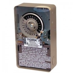 NSi Industries - 1101FM-N - NSI Tork 1101FM-N Swimming Pool Time Switch, 24-Hour, SPST, Naryl NEMA 3R, 40A, 120V