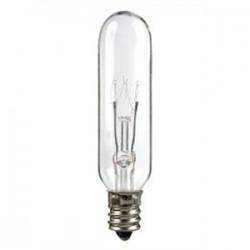 Candela - 15T6-145V-I - Candela 15T6-145V-I Incandescent Bulb, T6, 15W, 145V, Clear