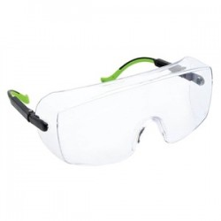 Greenlee / Textron - 01762-07C - Greenlee 01762-07C Safety Glasses, Over-Wrap, Clear