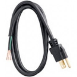 Coleman Cable - 09709-88-08 - Coleman Cable 09709-88-08 Power Supply Cord, Type SJTW, 16/3 AWG, 9'