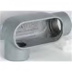 BizLine - BZLOLR4CG - Bizline BZLOLR4CG Conduit Body, Type LR, 1-1/4, Aluminum, Form 5, Cover/Gasket Included