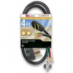 BizLine - RG6282BL506 - Bizline RG6282BL506 Range Cord, Type SRDT, 6', Black