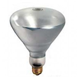 Damar - 01520A - Damar 01520A Incandescent Heat Lamp, Shatter-Resistant, BR40, 250W, 130V