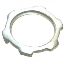 Eaton Electrical - 16 - Cooper Crouse-Hinds 16 Locknut, Size: 2, Material: Steel