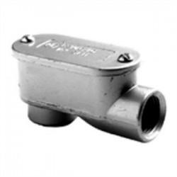 Bridgeport Fittings - 1027 - Bridgeport Fittings 1027 Conduit Body, Type: LB, Size: 1, Aluminum
